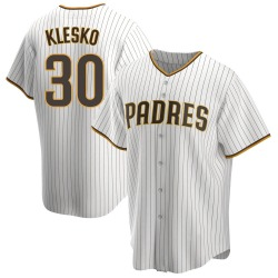 Ryan Klesko San Diego Padres Youth Replica /Brown Home Jersey - White